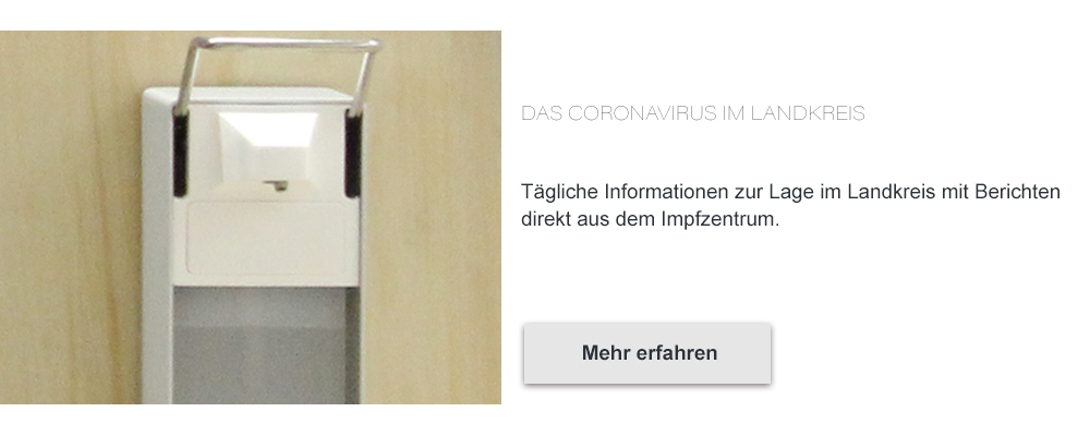 Coronavirus - Informationen für den Landkreis Miesbach